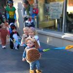 Höhepunkt der Kita-Halloween-Parade